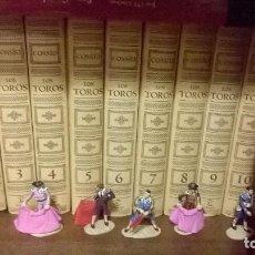 Enciclopedias de segunda mano: EL COSSÍO. ENCICLOPEDIA TAURINA 20 TOMOS + 7 FIGURAS TOREO DE PLOMO.. Lote 110835687