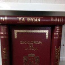 Enciclopedias de segunda mano: ENCICLOPEDIA DE LA RIOJA - 4 TOMOS - EDITORIAL HESA 1983 . Lote 111592375