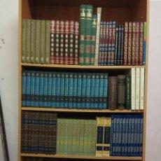 Enciclopedias de segunda mano: TREMENDA BIBLIOTECA DEL CONOCIMIENTO - LOTE DE 140 EJEMPLARES DE DIFERENTES TEMÁTICAS - VER FOTOS -. Lote 111855559