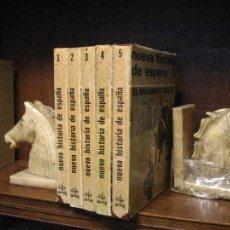 Livres d'occasion: NUEVA HISTORIA DE ESPAÑA - MIGUEL AVILES FERNANDEZ - 5 TOMOS COMPLETA EDAF 1975. Lote 111977771