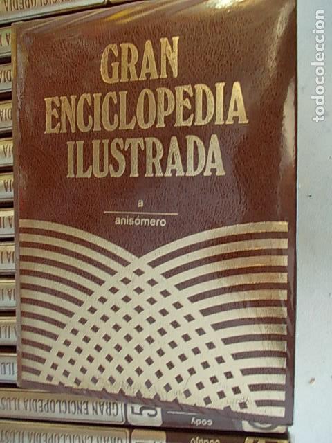 Enciclopedias de segunda mano: Gran enciclopedia ilustrada 20 tomos - Foto 2 - 112398063