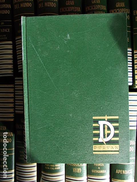 Enciclopedias de segunda mano: Gran enciclopedia del mundo 32 tomos Durvan 1965 - Foto 3 - 112513323