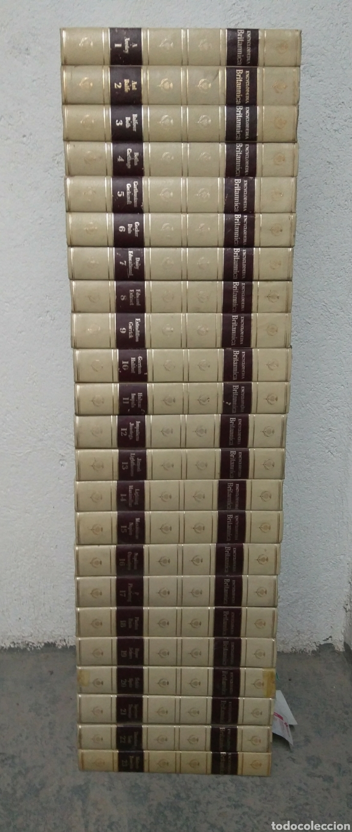 Enciclopedia británica encyclopaedia britannica - Sold