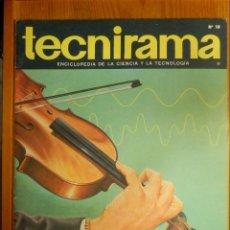 Enciclopedias de segunda mano: TECNIRAMA - ENCICLOPEDIA DE LA CIENCIA Y LA TECNOLOGÍA - Nº 18 - AÑO 2 - TOMO 1 - CODEX 1963. Lote 114050099