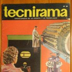 Enciclopedias de segunda mano: TECNIRAMA - ENCICLOPEDIA DE LA CIENCIA Y LA TECNOLOGÍA - Nº 59 - AÑO 2 - TOMO V - CODEX 1963. Lote 114050359