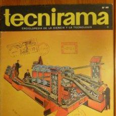Enciclopedias de segunda mano: TECNIRAMA - ENCICLOPEDIA DE LA CIENCIA Y LA TECNOLOGÍA - Nº 60 - AÑO 2 - TOMO V - CODEX 1963. Lote 114050435