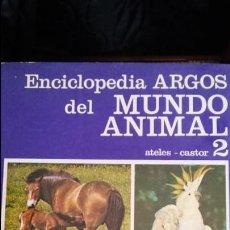 Enciclopedias de segunda mano: ENCICLOPEDIA ARGOS DEL MUNDO ANIMAL. COMPLETA 10 TOMOS. DESCATALOGADA.. Lote 114344399