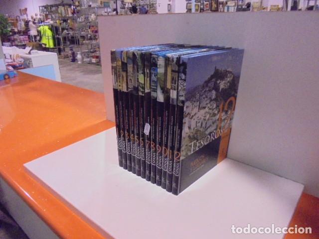 Enciclopedias de segunda mano: Enciclopedia Tesoros de España ABC Editorial Espasa. - Foto 3 - 114979511