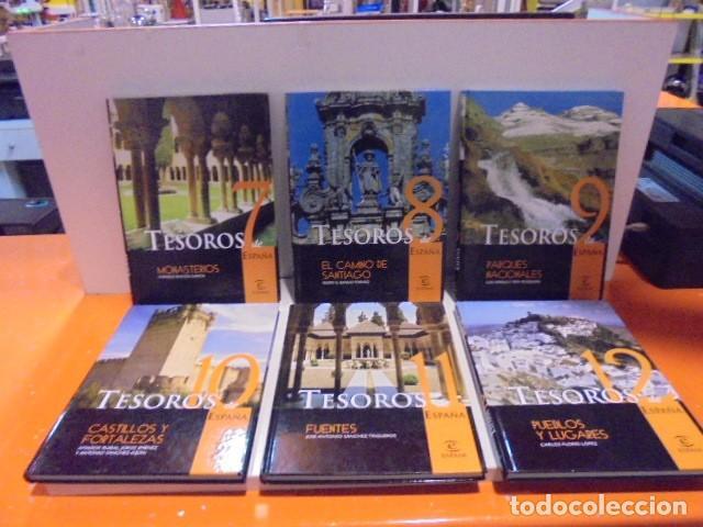 Enciclopedias de segunda mano: Enciclopedia Tesoros de España ABC Editorial Espasa. - Foto 4 - 114979511