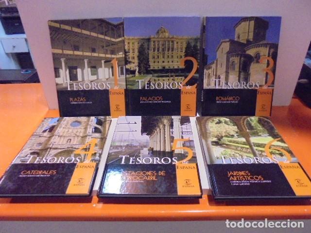 Enciclopedias de segunda mano: Enciclopedia Tesoros de España ABC Editorial Espasa. - Foto 5 - 114979511