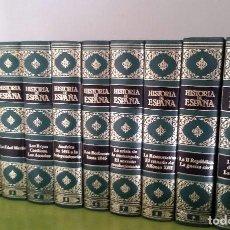 Enciclopedias de segunda mano: HISTORIA DE ESPAÑA. 10 TOMOS. COMPLETA. CLUB INTERNACIONAL DEL LIBRO. MADRID, 1988. IMPECABLE.. Lote 115445099