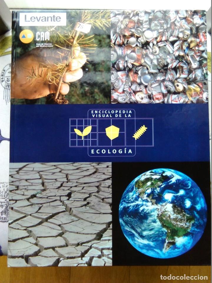 ENCICLOPEDIA VISUAL DE LA ECOLOGÍA. LEVANTE EL MERCANTIL VALENCIANO (Libros de Segunda Mano - Enciclopedias)
