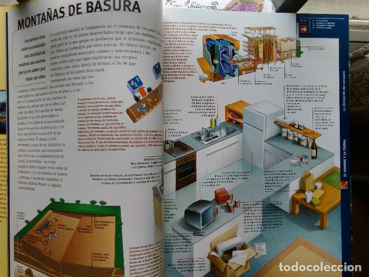 Enciclopedias de segunda mano: ENCICLOPEDIA VISUAL DE LA ECOLOGÍA. LEVANTE EL MERCANTIL VALENCIANO - Foto 3 - 115451187