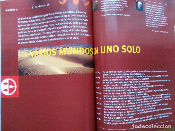 Enciclopedias de segunda mano: ENCICLOPEDIA VISUAL DE LA ECOLOGÍA. LEVANTE EL MERCANTIL VALENCIANO - Foto 6 - 115451187