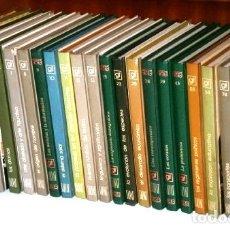 Enciclopedias de segunda mano: LOTE DE LA COLECCIÓN BIBLIOTECA DE GRANDES TEMAS 31T DE ED. SALVAT EN NAVARRA 1973. Lote 112039082