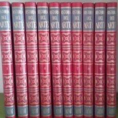 Enciclopedias de segunda mano: HISTORIA DEL ARTE SALVAT, 1970.10 TOMOS COMPLETA + EL ROSTRO HUMANO EN EL ARTE, 1973.. Lote 115686931