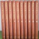 Enciclopedias de segunda mano: PUEBLOS DE LA TIERRA. MIGUEL DE LA QUADRA-SALCEDO. 10 TOMOS + 15 VHS COMPLETA. SALVAT, 1993.. Lote 115822263