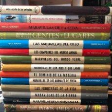 Enciclopedias de segunda mano: ENCICLOPIA MARAVILLAS 18 TOMOS. Lote 115893555