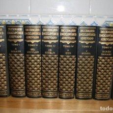 Enciclopedias de segunda mano: DICCIONARIO ENCICLOPÉDICO ABREVIADO ESPASA CALPE 8 TOMOS. 1957.. Lote 117953919