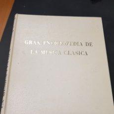 Enciclopedias de segunda mano: GRAN ENCICLOPEDIA DE LA MUSICA CLASICA - PB. Lote 117955867