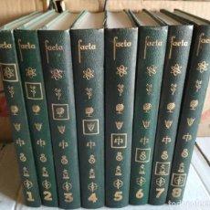 Enciclopedias de segunda mano: ENCICLOPEDIA SISTEMATICA FACTA EN OCHO TOMOS, RIALP 1962, COMPLETA, LIBROS. Lote 118111555