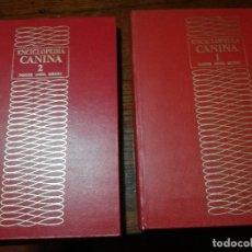Livros em segunda mão: GRAN ENCICLOPEDIA CANINA NOGUER/ANESA/ FIORONE (2 TOMOS).. Lote 147266306