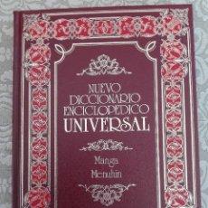 Enciclopedias de segunda mano: NUEVO DICCIONARIO ENCICLOPÉDICO UNIVERSAL. Lote 121076039