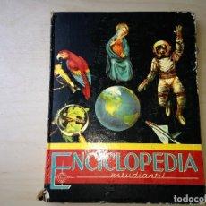 Enciclopedias de segunda mano - Enciclopedia Estudiantil Tomo III 1963 - 121540187