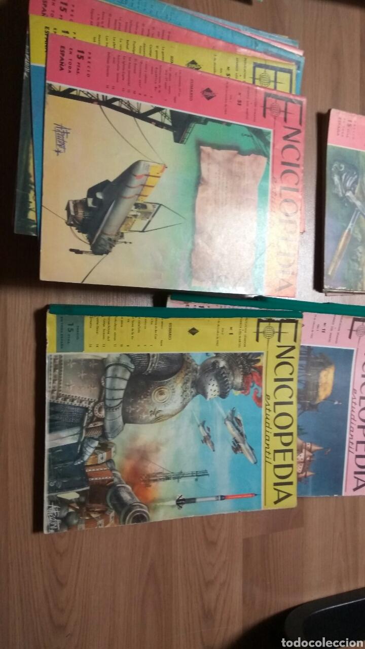 Enciclopedias de segunda mano: ENCICLOPEDIA ESTUDIANTIL DEL 1 AL 192 - Foto 2 - 145902234