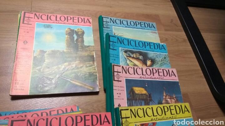Enciclopedias de segunda mano: ENCICLOPEDIA ESTUDIANTIL DEL 1 AL 192 - Foto 3 - 145902234