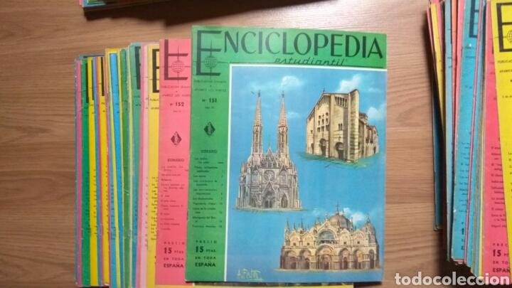 Enciclopedias de segunda mano: ENCICLOPEDIA ESTUDIANTIL DEL 1 AL 192 - Foto 5 - 145902234
