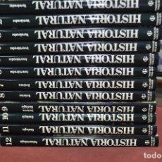 Enciclopedias de segunda mano: 12 TOMOS HISTORIA NATURAL - INSTITUTO GALLACH - ENM. Lote 122686579