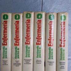 Enciclopedias de segunda mano: ENCICLOPEDIA PRÁCTICA DE ENFERMERÍA. PLANETA. OBRA COMPLETA EN 6 TOMOS. Lote 122887731