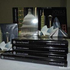 Enciclopedias de segunda mano - Joyas de la Humanidad. 5 tomos + guía y DVD. Ed. Planeta. TOTALMENTE NUEVO - 122941539