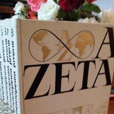 Enciclopedias de segunda mano - enciclopedia juvenil 1973 Zeta, completa 8 tomos - 124221627