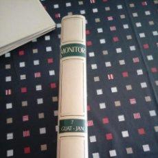 Enciclopedias de segunda mano: MONITOR. ENCICLOPEDIA SALVAT PARA TODOS. TOMO 7 1965. Lote 124509199