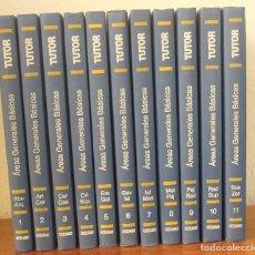 Enciclopedias de segunda mano: TUTOR , AREAS GENERALES BASICAS - OBRA COMPLETA EN 11 TOMOS - LIBROS MEDIO DE CONSULTA ORIENTACION. Lote 124594595