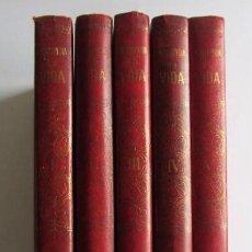Enciclopedias de segunda mano: ENCICLOPEDIA DE LA VIDA (5 TOMOS) COMPLETAEDITORIAL BRUGUERA SA1970. Lote 125865939