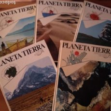 Enciclopedias de segunda mano: PLANETA TIERRA ENCICLOPEDIA GEOGRÁFICA. 5 TOMOS. Lote 125937191
