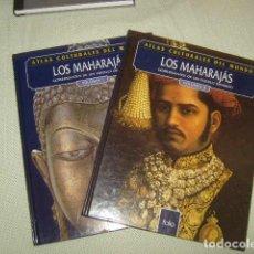 Enciclopedias de segunda mano - LOS MAHARAJAS , 2 TOMOS , ATLAS CULTURALES DEL MUNDO - 126010359