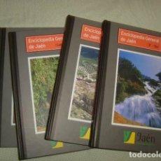 Enciclopedias de segunda mano: ENCICLOPEDIA GENERAL DE JAEN , TOMOS 5,6,7 Y 8. Lote 126010935