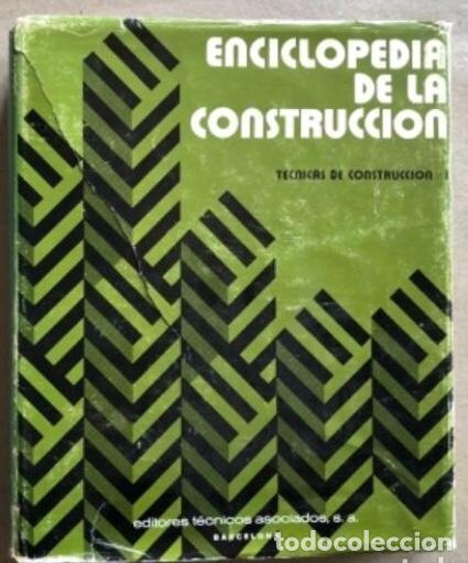Enciclopedias de segunda mano: ENCICLOPEDIA DE LA CONSTRUCCIÓN, 4 TOMOS. (EDITORES TÉCNICOS ASOCIADOS, 1974). EJEMPLOS DE ARQUITECT - Foto 12 - 140377025