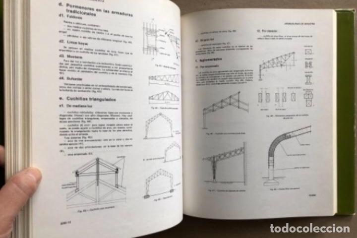Enciclopedias de segunda mano: ENCICLOPEDIA DE LA CONSTRUCCIÓN, 4 TOMOS. (EDITORES TÉCNICOS ASOCIADOS, 1974). EJEMPLOS DE ARQUITECT - Foto 15 - 140377025