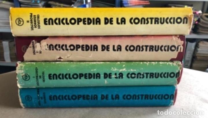 Enciclopedias de segunda mano: ENCICLOPEDIA DE LA CONSTRUCCIÓN, 4 TOMOS. (EDITORES TÉCNICOS ASOCIADOS, 1974). EJEMPLOS DE ARQUITECT - Foto 22 - 140377025
