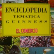 Enciclopedias de segunda mano: ENCICLOPEDIA TEMÁTICA GUINNESS. DIARIO EL COMERCIO. BBV. CARTONÉ CON SOBRECUBIERTA. AÑO 1995. PÁGINA. Lote 126098247