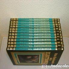 Enciclopedias de segunda mano: GRAN ENCICLOPEDIA DE LA ELECTRONICA - 12 TOMOS - EDICIONES NUEVA LENTE. Lote 126111039