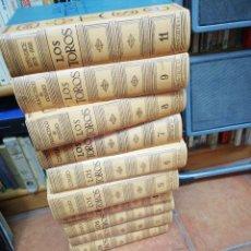Enciclopedias de segunda mano: COSSIO.- LOS TOROS 10 VOLÚMENES. 1,2,3,4,5,6,7,8,9,11. Lote 126277823