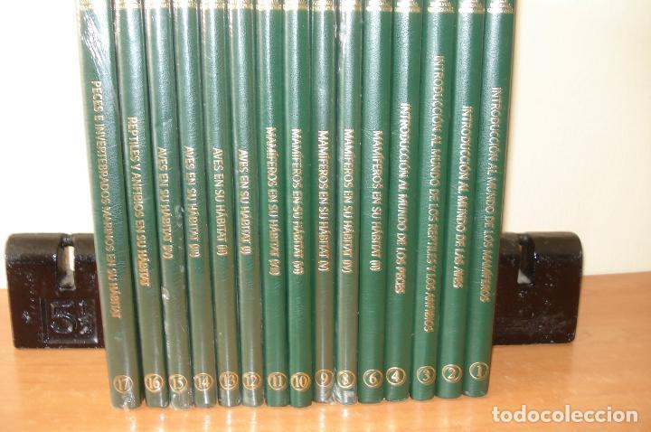 ENCICLOPEDIA NATIONAL GEOGRAPHIC. EL MARAVILLOSO MUNDO DE LOS ANIMALES. RBA EDICIONES. 15 TOMOS. (Libros de Segunda Mano - Enciclopedias)