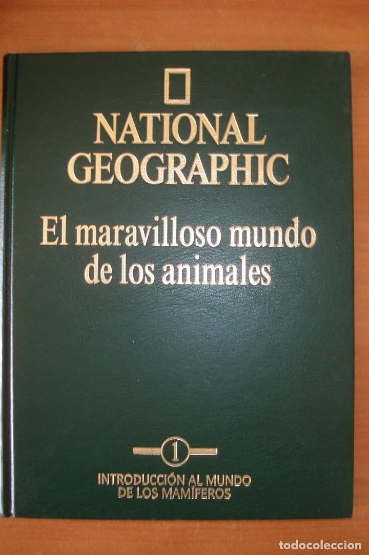 Enciclopedias de segunda mano: Enciclopedia NATIONAL GEOGRAPHIC. El maravilloso mundo de los animales. RBA Ediciones. 15 Tomos. - Foto 3 - 126778651