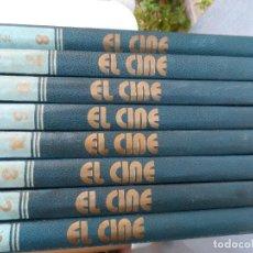 Enciclopedias de segunda mano: ENCICLOPEDIA DEL 7 ARTE EL CINE 8 VOLÚMENES. Lote 127000935